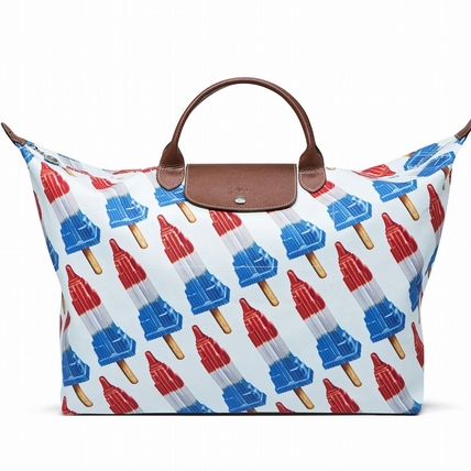 全台限量10只!Longchamp x Jeremy Scott幽默打造 《冰棒帝國Empire State Popsicle》