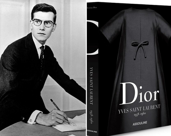 Dior成立70周年   推設計師作品回顧典籍《Dior by Yves Saint Laurent》